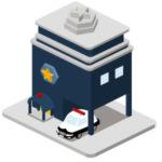 警察署には部署が色々ありますが、何課で車庫証明は受付してますか?
