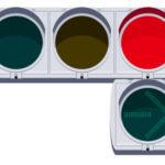 知ってた?右向きの青色矢印信号機のもう一つのルール・意味
