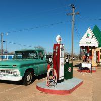 ガソリンスタンドの数の推移 (青森市)