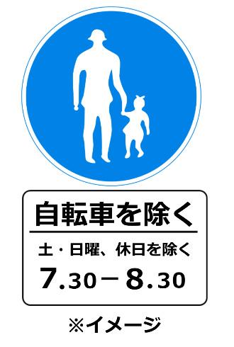 通行禁止 通行規制 標識
