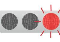 赤色 黄色 点滅信号