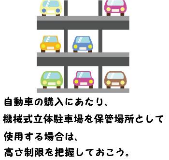機械式立体駐車場 高さ制限