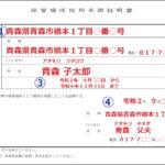 保管場所使用承諾証明書の記入例|自宅とアパートの場合